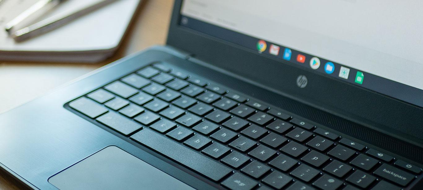 Keyboard of HP computer