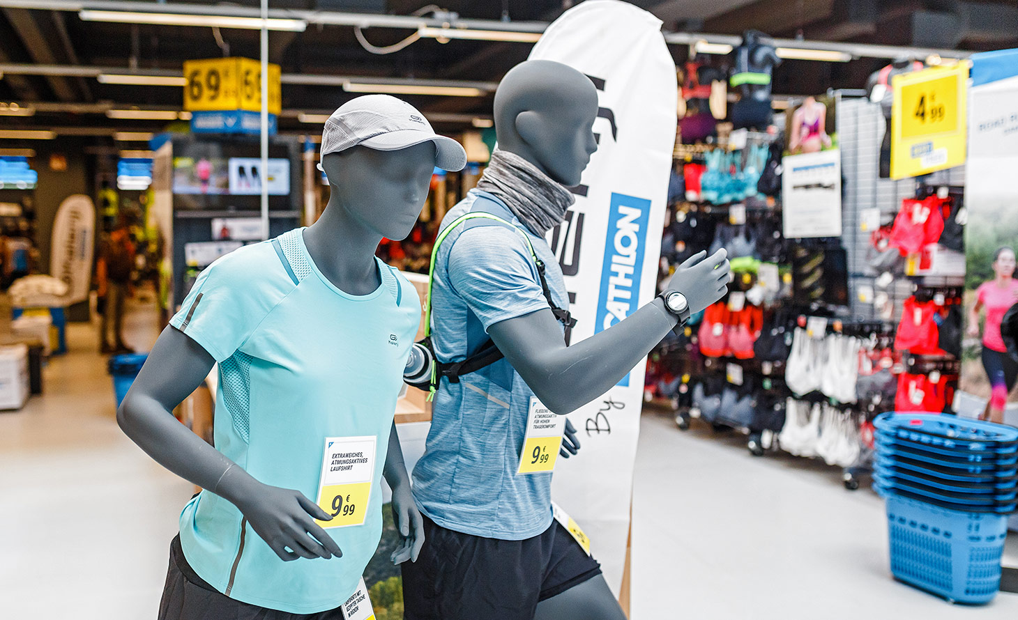 Decathlon store